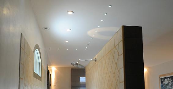 éclairage par spots led